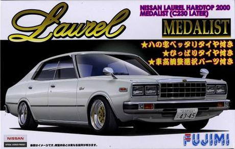 Fujimi Nissan Laurel 2000 4Door Medarist (230 Later)