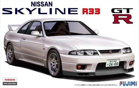 Fujimi 1/24 ID-19 Nissan R33 Skyline GT-R 95