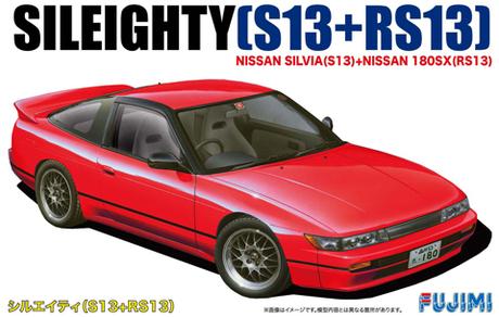 Fujimi 1/24 Nissan New Sileighty (Silvia S13+180SX RS13)