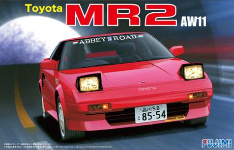 Fujimi Toyota MR2 AW11