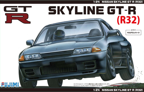 Fujimi Nissan R32 Skyline GT-R '89