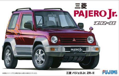 Fujimi 1/24 Mitsubishi Pajero Jr ZR-II with Window Frame Masking
