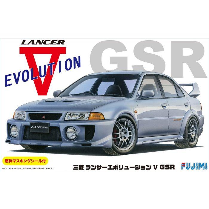 Fujimi Lancer Evolution V GSR w/Window Frame Masking