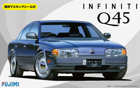 Fujimi 1/24 Infiniti Q45 with Window Frame Masking Seal