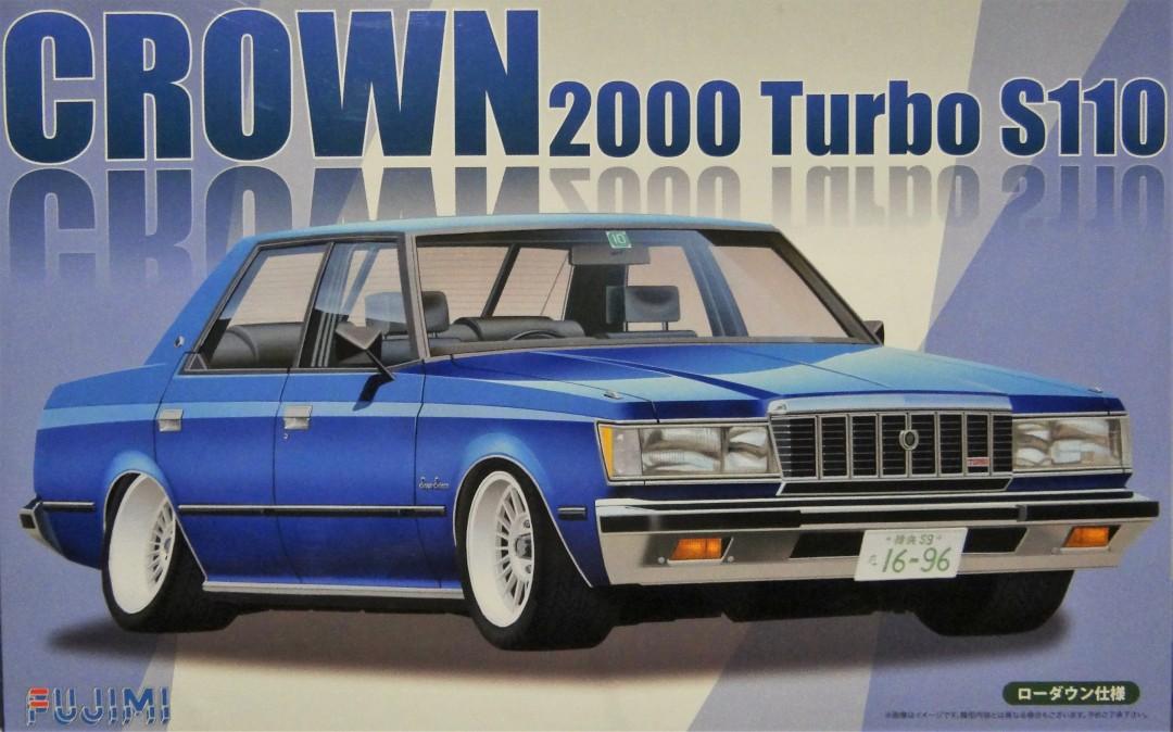 Fujimi Crown 2000 Turbo S110