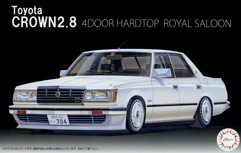 Fujimi Crown 2.8 4 Door HT Royal Saloon`79 (MS110)