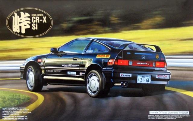 Fujimi Honda CR-X Si
