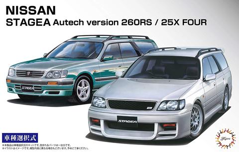 Fujimi 1/24 Stagea Autech Version 260RS/25X Four