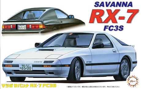 Fujimi 1/24 Mazda FC3S RX-7 '85