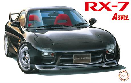 Fujimi 1/24 Mazda RX-7 FD3S Speed A-spec