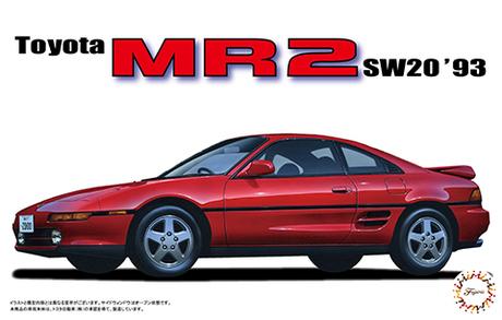 Fujimi 1/24 Toyota SW20 MR2 '93