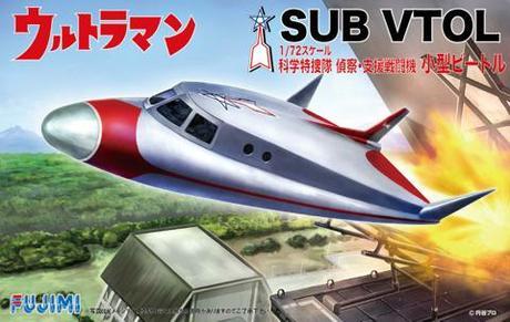 Fujimi 1/72 Ultraman Sub VTOL