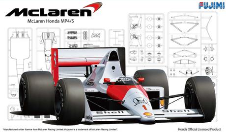 Fujimi 1/20 F1 McLaren Honda MP4/5