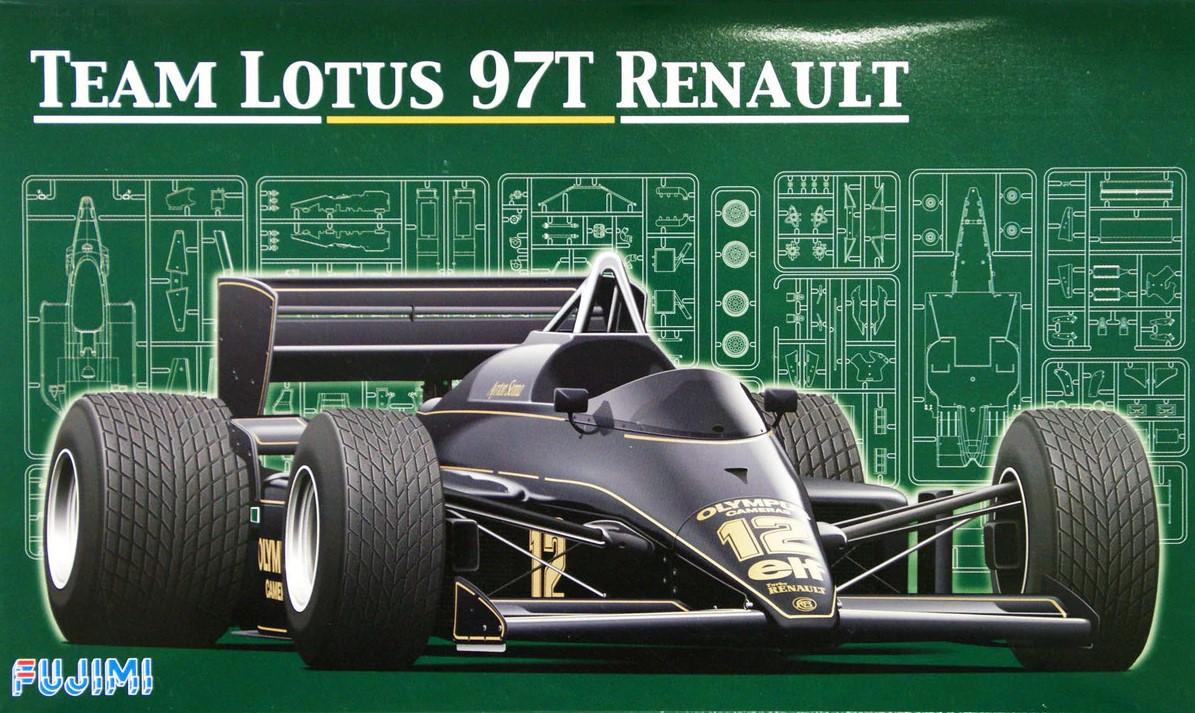 Fujimi 1/20 Team Lotus 97T Renault, 1985