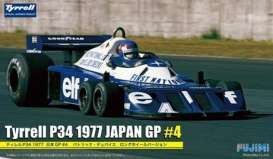 Fujimi 1/20 GP17 Tyrrell P34 1977 Japan GP Long Wheel Version