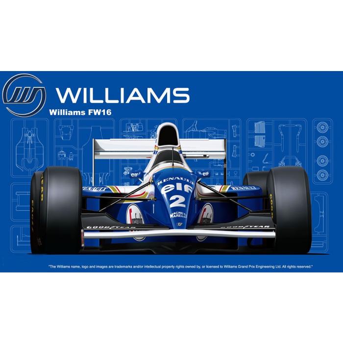 Fujimi Williams FW16 Renault 1994 (San MarinoGP/Brazilian GP/Pacific GP)