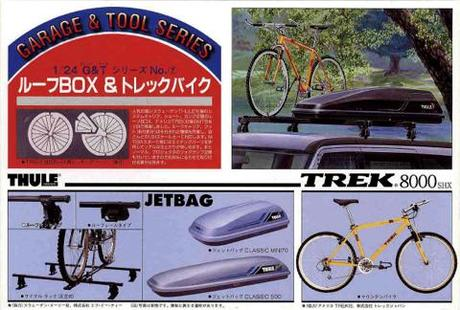 Fujimi 1/24 Roof Box & Trekking Bike