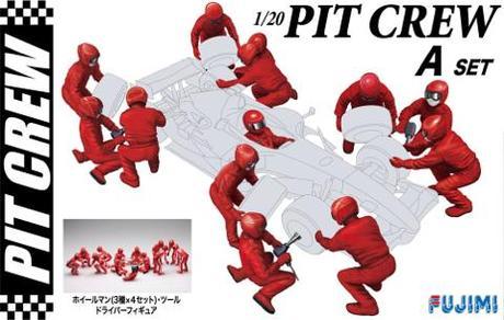 Fujimi Pit Crew STE A