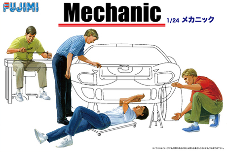 Fujimi 1/24 Mechanic (Accessory)