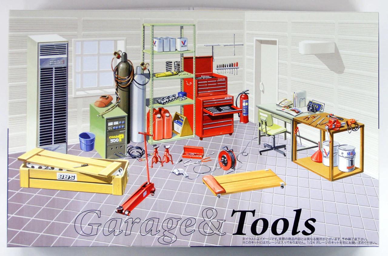 Fujimi 1/24 GT2 No.2 Garage & Tools