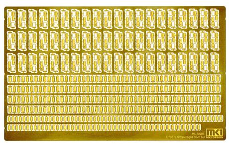 Fujimi 1/700 MS70006 IJN Watertight Door Set Etching Parts