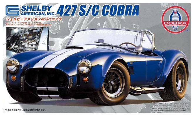 Fujimi 1/24 Shelby Cobra 427SC (with Engine Model)