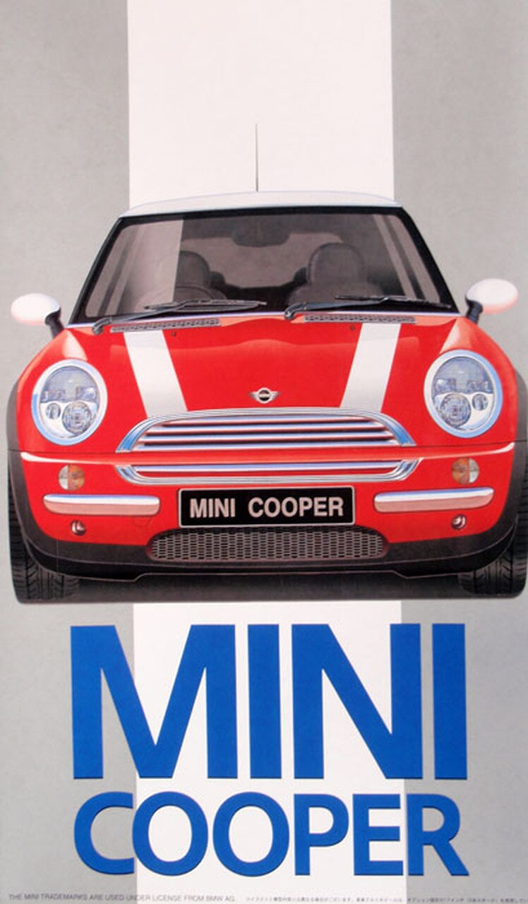 Fujimi 1/24 New Mini Cooper