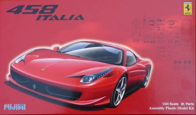 Fujimi 1/24 Real Sports Car Series (81) Ferrari 458 Italia