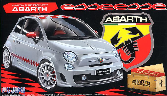 Fujimi 1/24 Abarth 500 ESSEESE