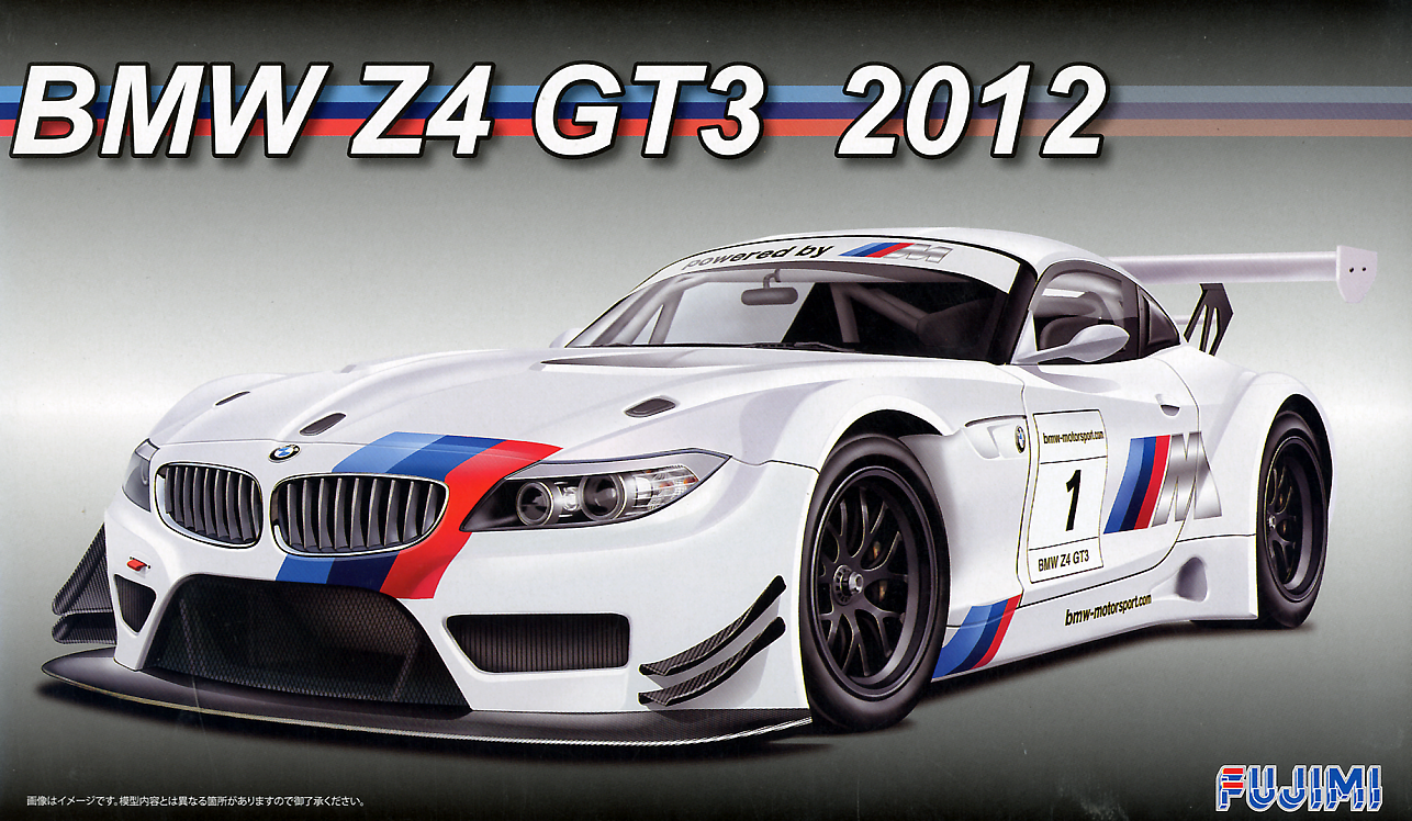 Fujimi 1/24 Z4 BMW GT3 2012 with Etching Parts