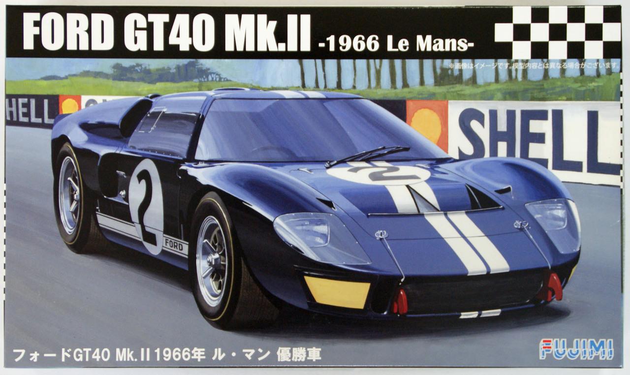Fujimi 1/24 Ford GT40 Mk-II '66 LeMans Winner