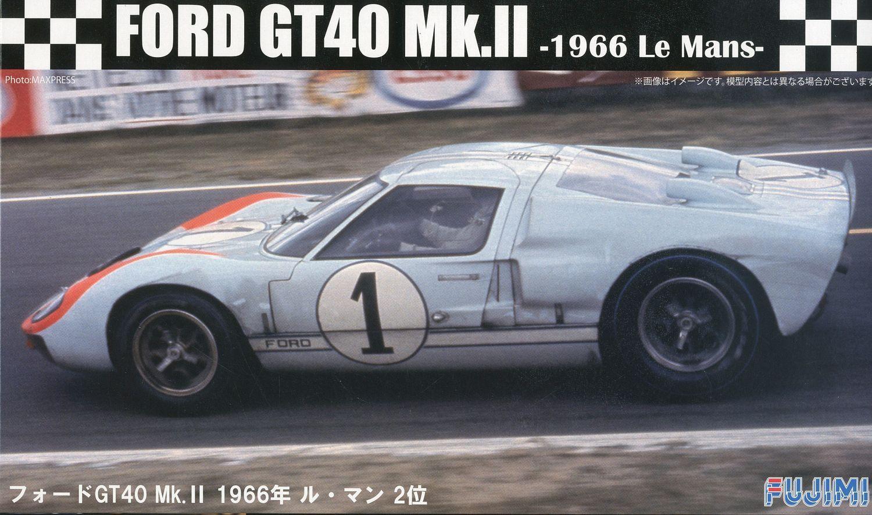 Fujimi 1/24 Ford GT40 Mk-II '66 LeMans 2nd