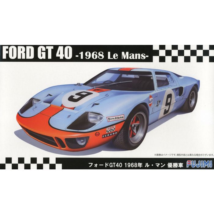 Fujimi Ford GT40 '68 LeMans Winner