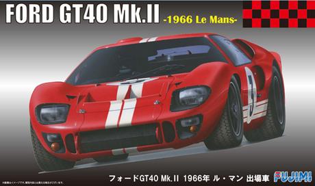 Fujimi 1/24 RS-51 Ford GT40 Mk.II 1966 Le Mans