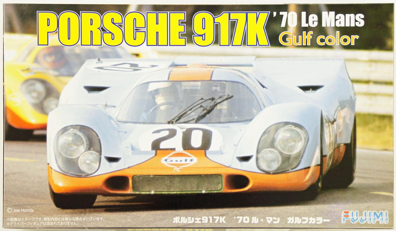 Fujimi 1/24 Porsche 917K 70 Le Mans Gulf Color