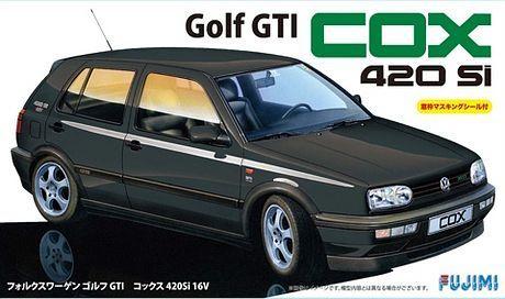 Fujimi 1/24 VW Golf COX 420Si 16V with Window Frame Masking