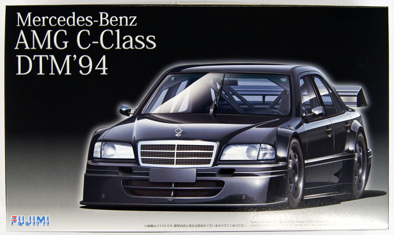 Fujimi 1/24 Real Sports Car Series (62) Mercedes-Benz AMG C Class DTM '94