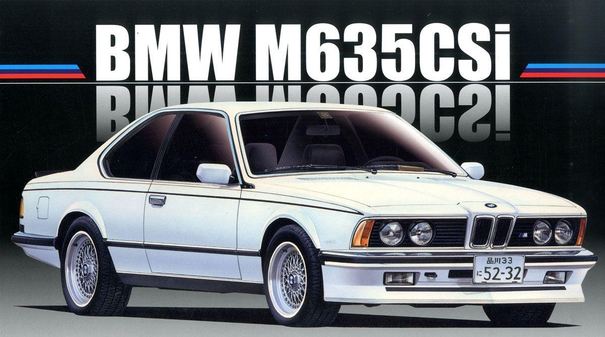 Fujimi 1/24 Real Sports Car Series (24) BMW M635CSi