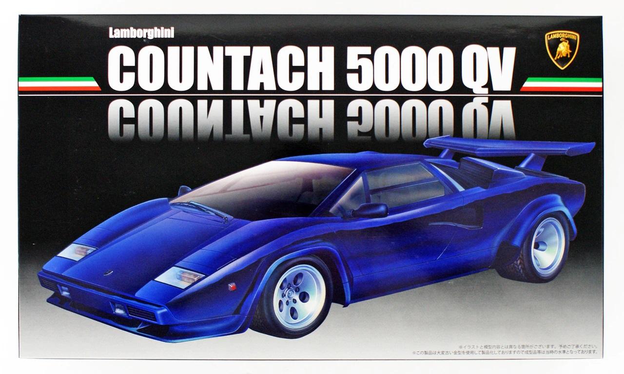 Fujimi Lamborghini Countach 5000 QuattroValvole