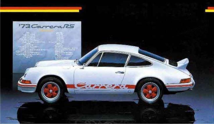 Fujimi Porsche 911 Carrera RS `73