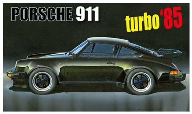 Fujimi 1/24 Porsche 911 Turbo '85