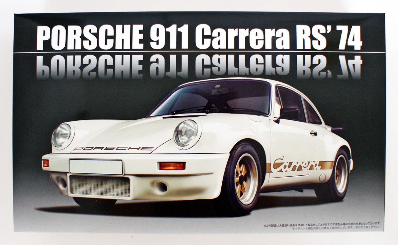 Fujimi 911 Carrera RS `74