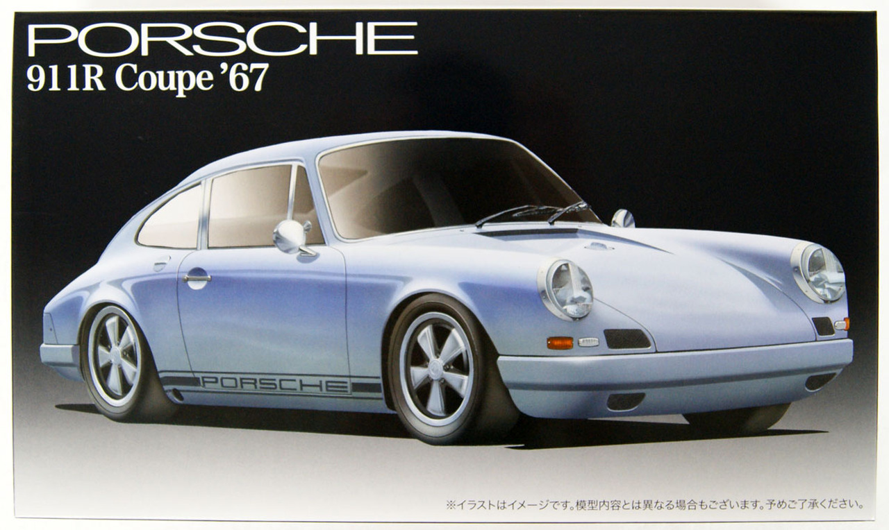 Fujimi 1/24 Porsche 911R Coupe '67