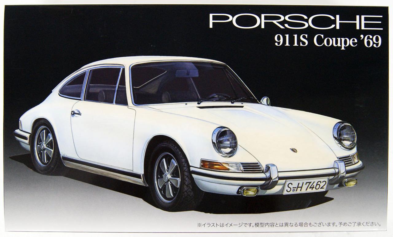 Fujimi 1/24 Porsche 911S Coupe '69