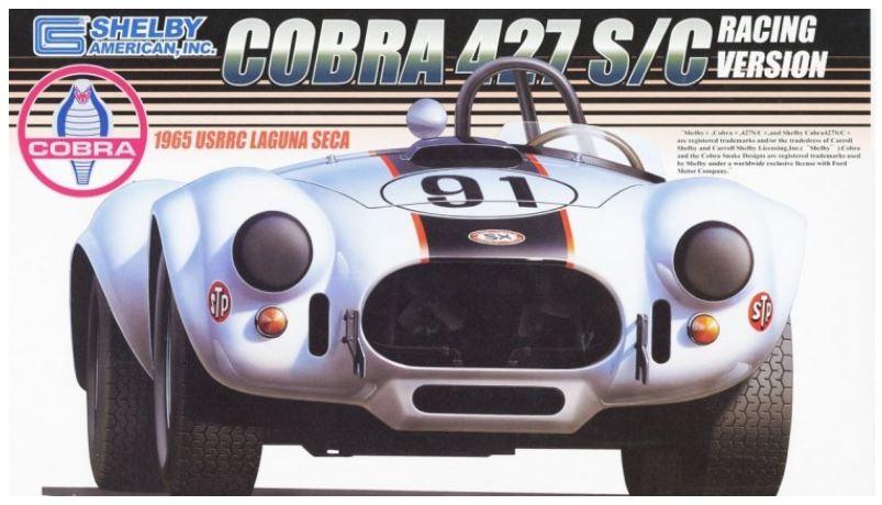 Fujimi 1/24 Shelby Cobra 427S/C 1965 USRRC Laguna Seca
