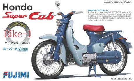 Fujimi 1/12 Honda Super Cub