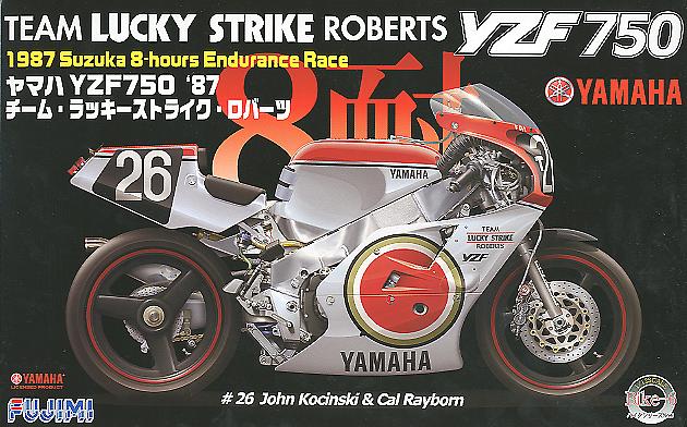 Fujimi 1/12 Yamaha YZF750 Lucky Strike Roberts