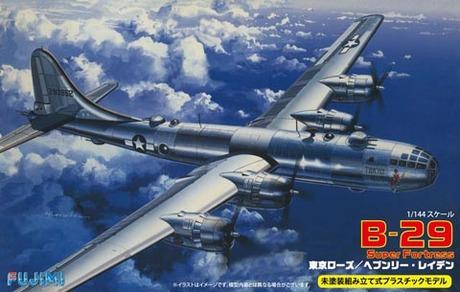 Fujimi B-29 Super Fortress Tokyo Rose/Heavenly Laden