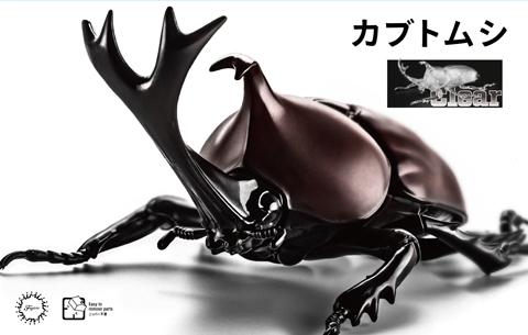 Fujimi Biology Edition Beetle (Clear)