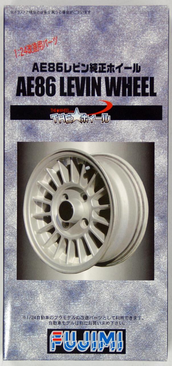 Fujimi 1/24 The Wheel Series (No.62) AE86 LEVIN Wheel & Tire Set 17 inch